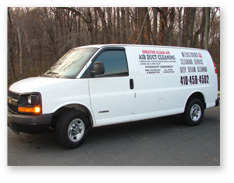 Merceron's Cleaning Service van